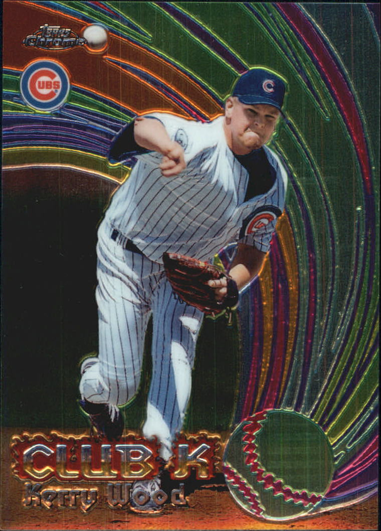 1999 Topps Chrome All-Etch #AE24 Kerry Wood