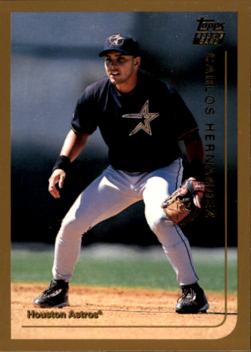 1999 Topps Chrome Traded #T4 Carlos Eduardo Hernandez RC