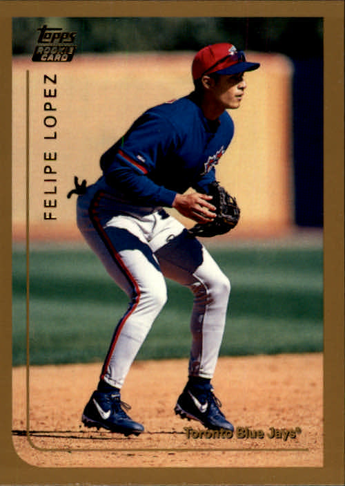 1999 Topps Chrome Traded #T10 Felipe Lopez RC