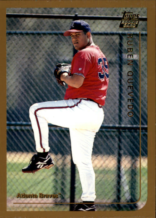 1999 Topps Chrome Traded #T13 Ruben Quevedo RC