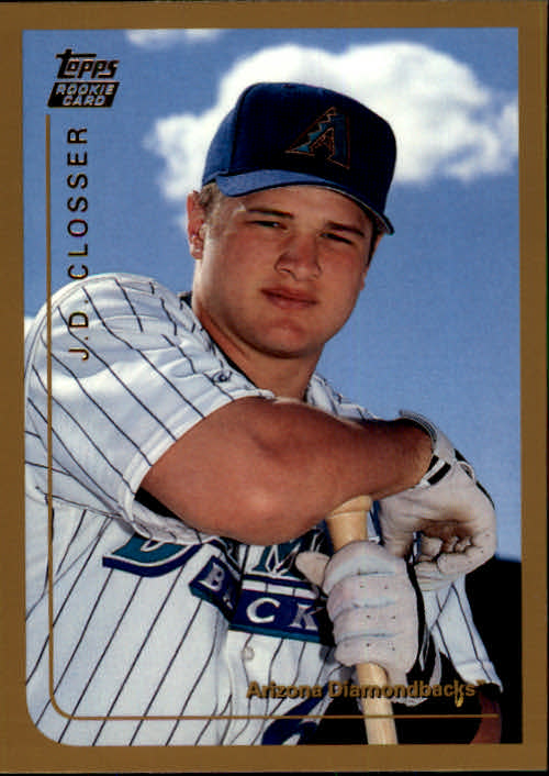 1999 Topps Chrome Traded #T21 J.D. Closser RC