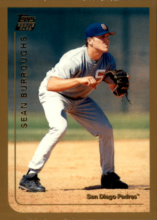 1999 Topps Chrome Traded #T40 Sean Burroughs RC