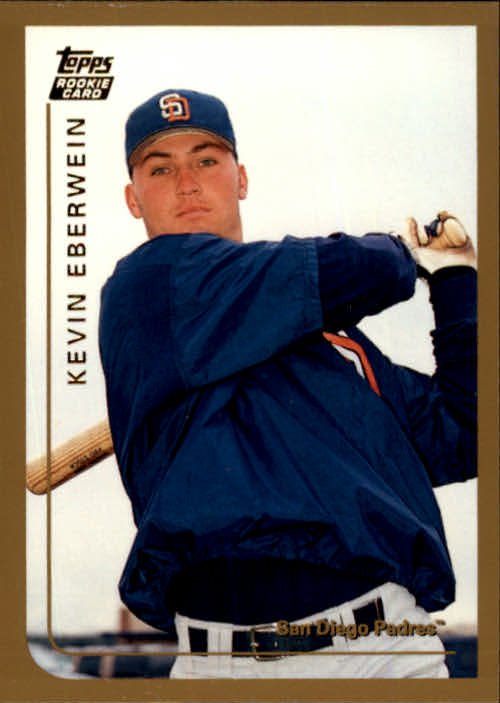 1999 Topps Chrome Traded #T41 Kevin Eberwein RC