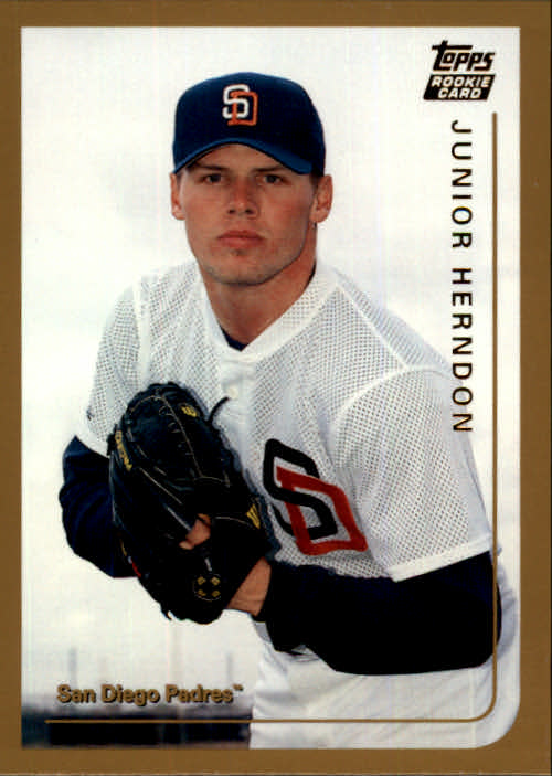 1999 Topps Chrome Traded #T42 Junior Herndon RC