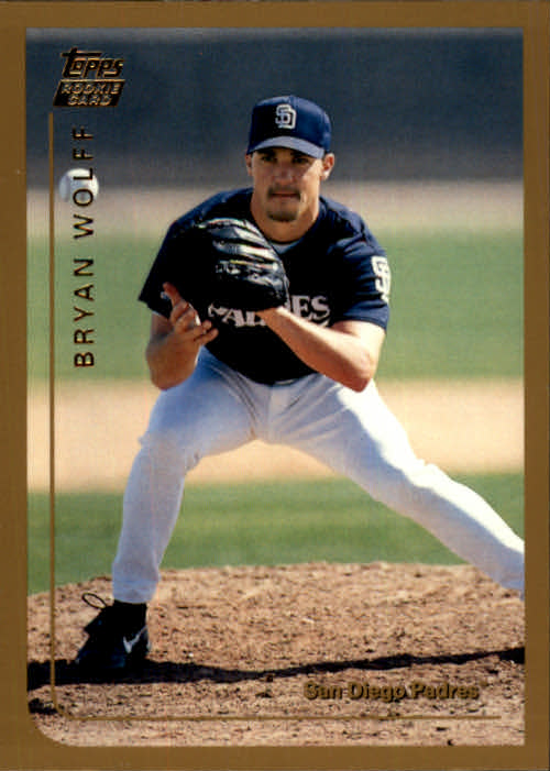 1999 Topps Chrome Traded #T43 Bryan Wolff RC