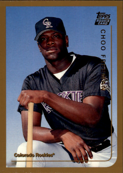 1999 Topps Chrome Traded #T53 Choo Freeman