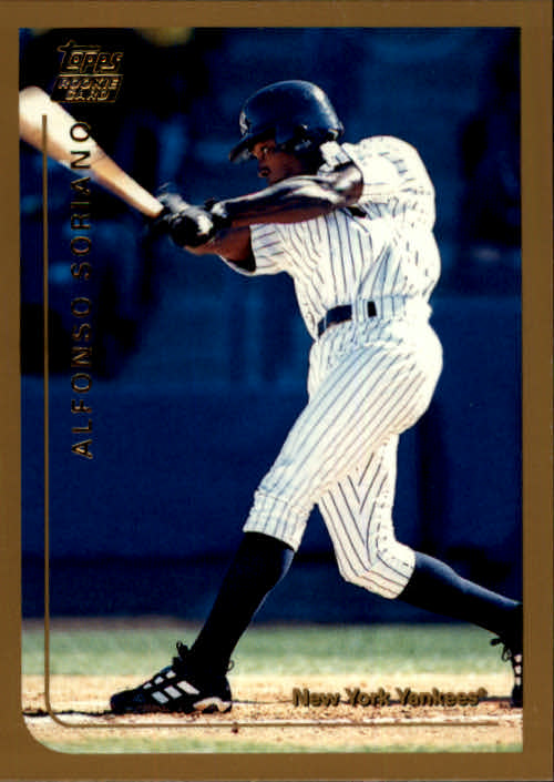 1999 Topps Chrome Traded #T65 Alfonso Soriano RC