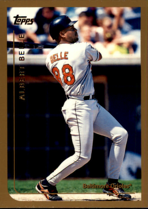 1999 Topps Chrome Traded #T84 Albert Belle