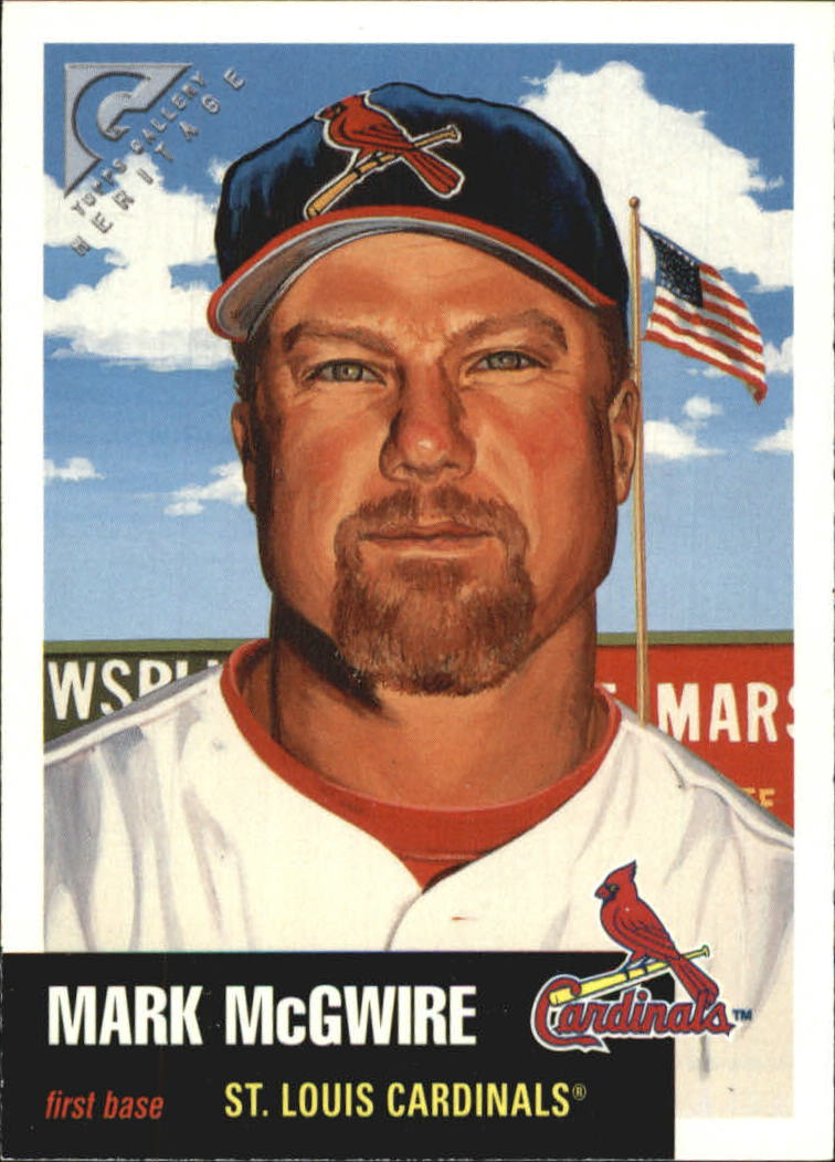 1999 Topps Gallery Heritage #TH20 Mark McGwire