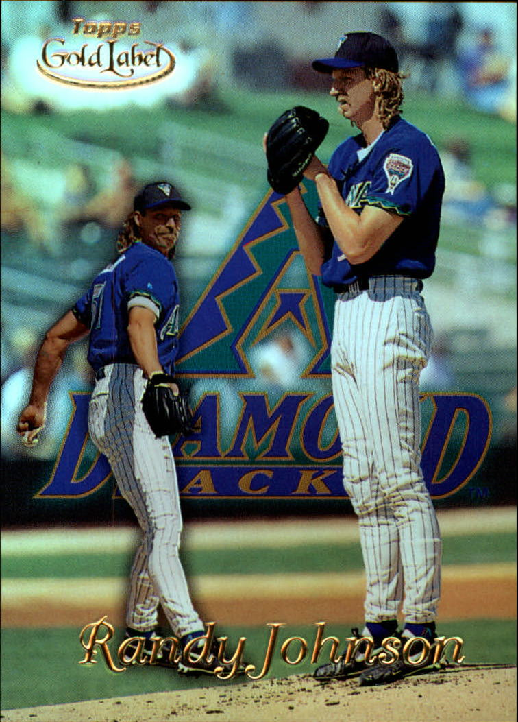 1999 Topps Gold Label Class 1 #43 Randy Johnson