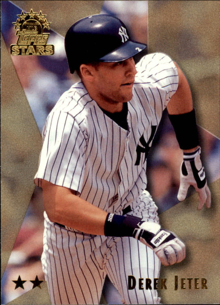 1999 Topps Stars Two Star #5 Derek Jeter