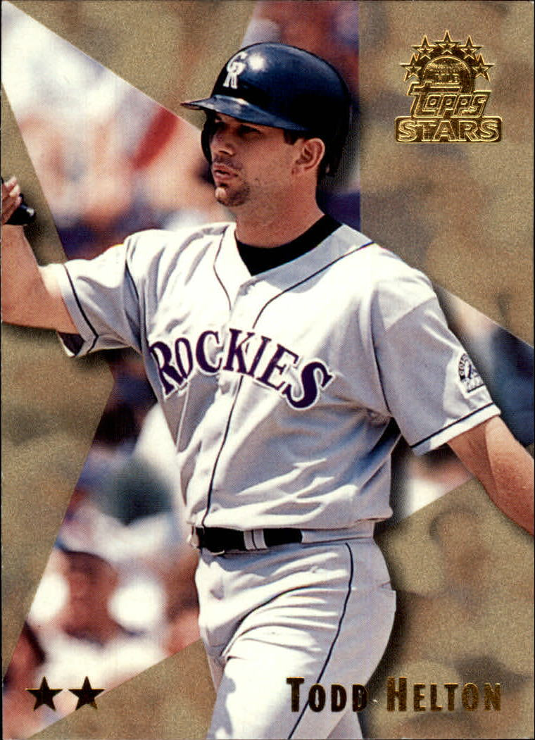 1999 Topps Stars Two Star #24 Todd Helton