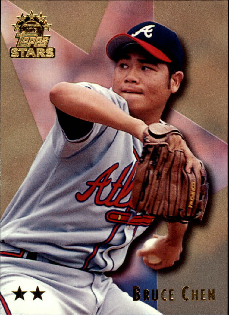 1999 Topps Stars Two Star #38 Bruce Chen