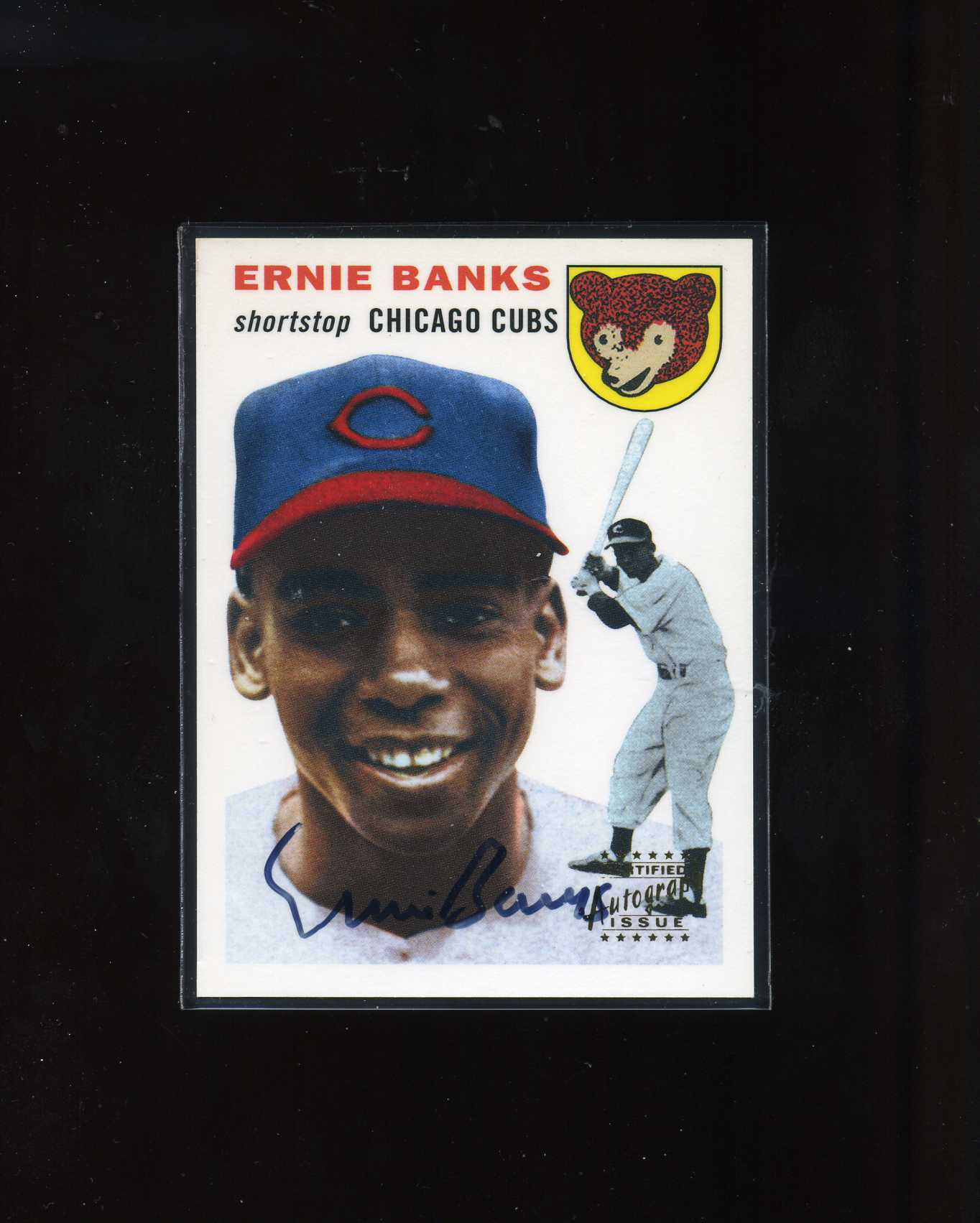 1999 Topps Stars Rookie Reprints Autographs #2 Ernie Banks DP