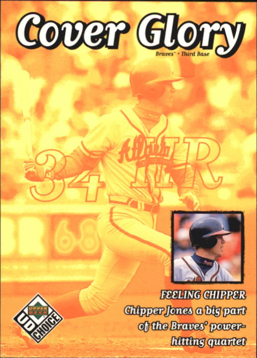 1999 UD Choice #42 Chipper Jones CG