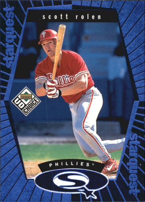 1999 UD Choice StarQuest #19 Scott Rolen