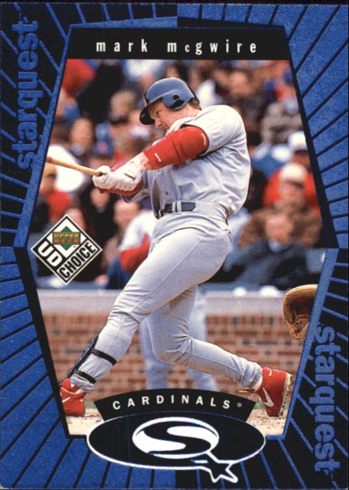 1999 UD Choice StarQuest #22 Mark McGwire