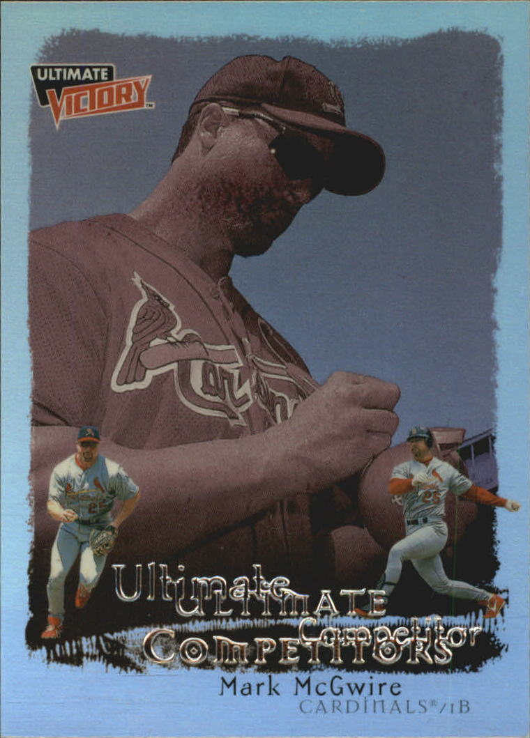 1999 Ultimate Victory Ultimate Competitors #U5 Mark McGwire