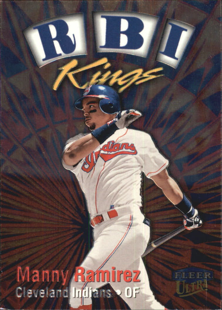 1999 Ultra RBI Kings #9 Manny Ramirez