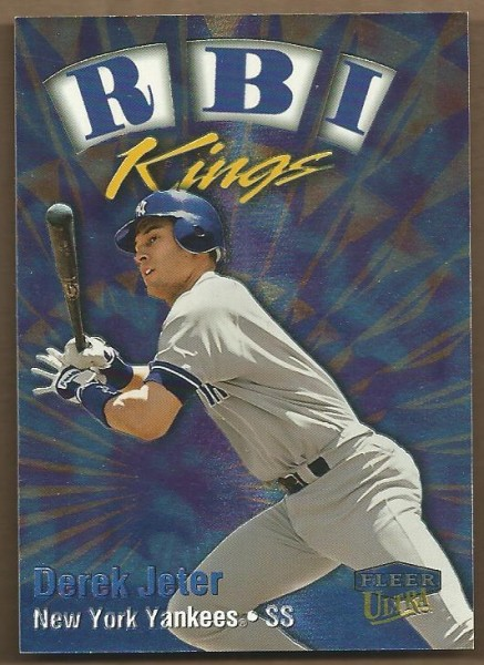 1999 Ultra RBI Kings #18 Derek Jeter