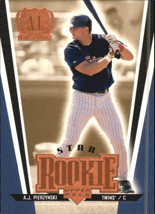 1999 Upper Deck Exclusives Level 1 #277 A.J. Pierzynski SR