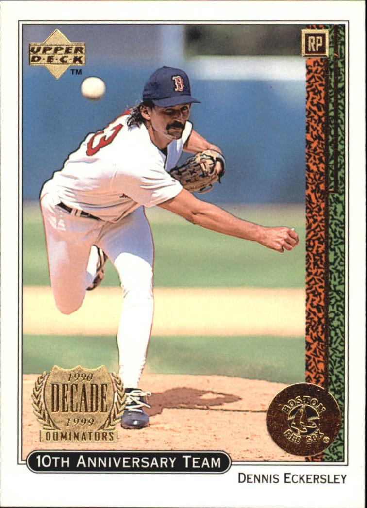 1999 Upper Deck 10th Anniversary Team #X11 Dennis Eckersley