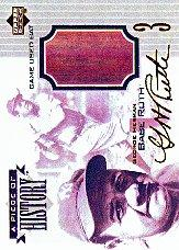 1999 Upper Deck A Piece of History #PH Babe Ruth
