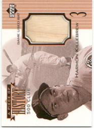 1999 Upper Deck A Piece of History 500 Club #HK Harmon Killebrew