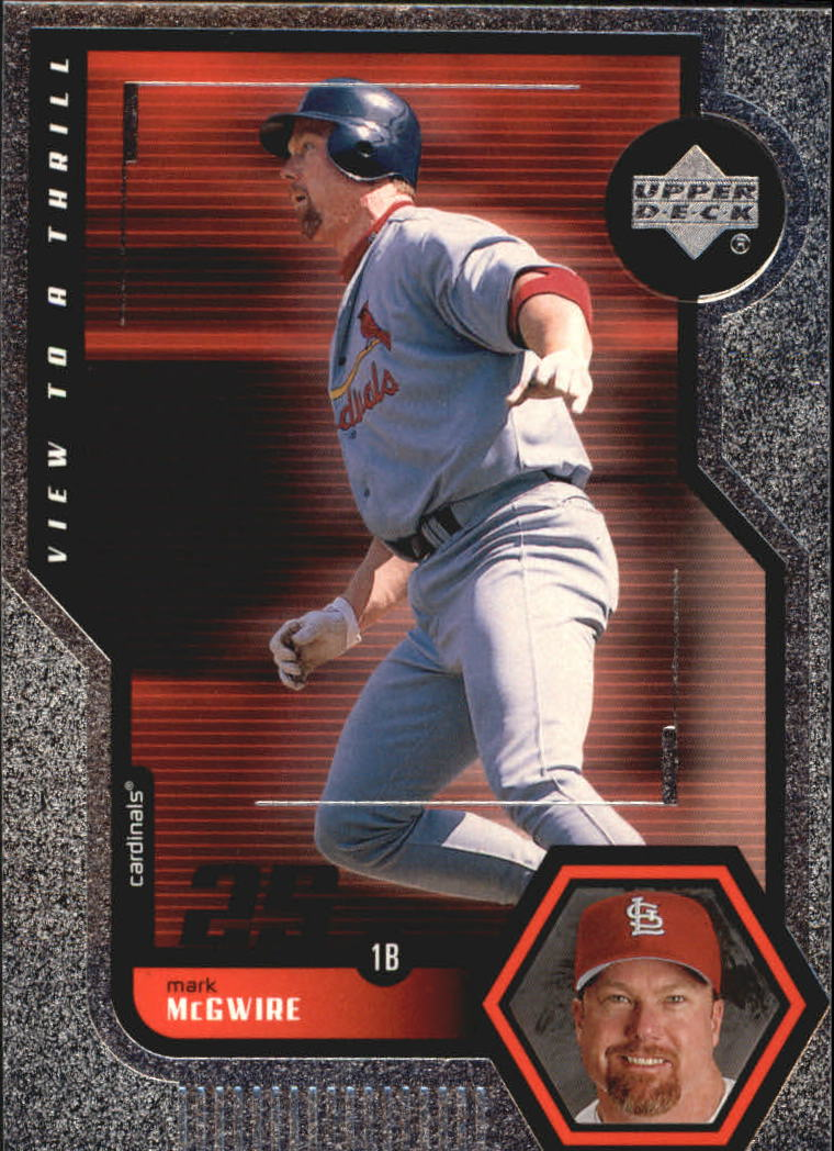 1999 Upper Deck View to a Thrill #V23 Mark McGwire front image