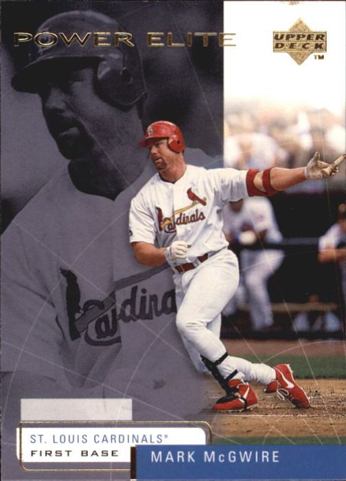 1999 Upper Deck Challengers for 70 #1 Mark McGwire