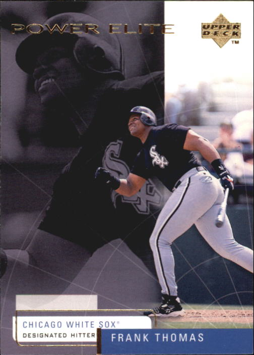 1999 Upper Deck Challengers for 70 #8 Frank Thomas