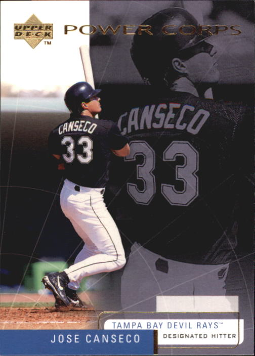 1999 Upper Deck Challengers for 70 #12 Jose Canseco