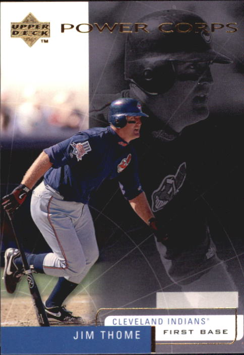 1999 Upper Deck Challengers for 70 #22 Jim Thome