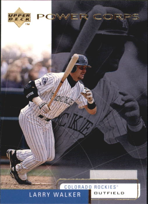 1999 Upper Deck Challengers for 70 #33 Larry Walker