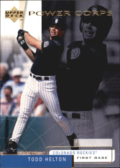 1999 Upper Deck Challengers for 70 #34 Todd Helton