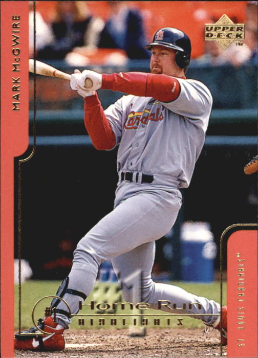 1999 Upper Deck Challengers for 70 #46 Mark McGwire HRH