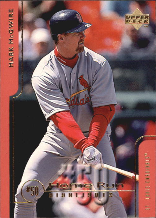 1999 Upper Deck Challengers for 70 #50 Mark McGwire HRH