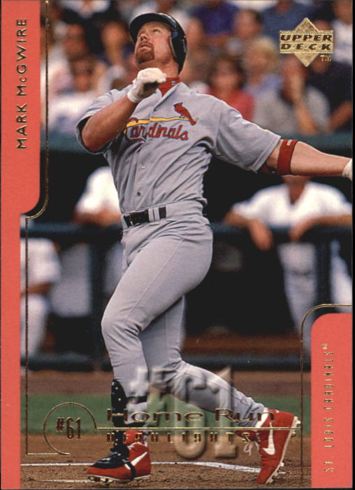 1999 Upper Deck Challengers for 70 #61 Mark McGwire HRH