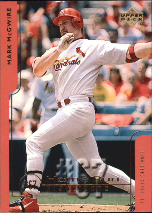 1999 Upper Deck Challengers for 70 #67 Mark McGwire HRH