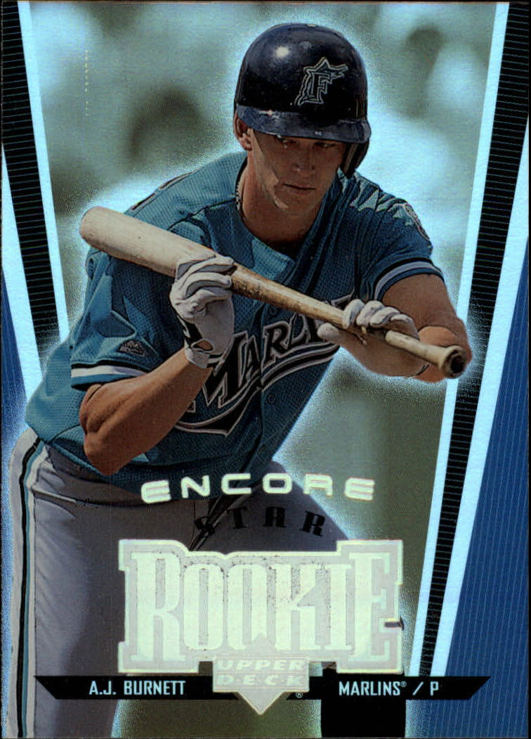 1999 Upper Deck Encore #121 A.J. Burnett SR RC