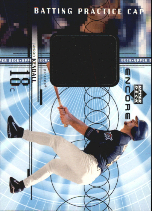 1999 Upper Deck Encore Batting Practice Caps #CJK Jason Kendall