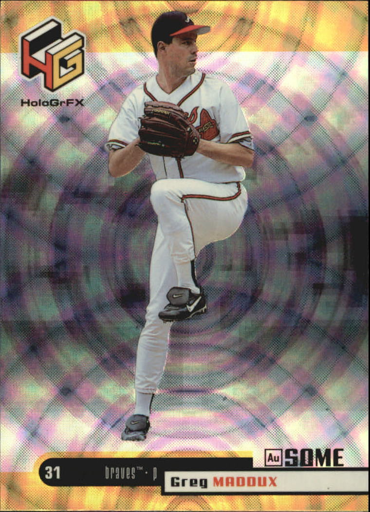 1999 Upper Deck HoloGrFX AuSOME #7 Greg Maddux