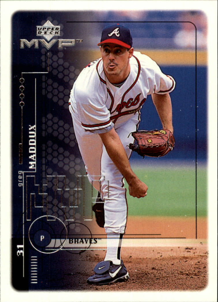 1999 Upper Deck MVP #17 Greg Maddux