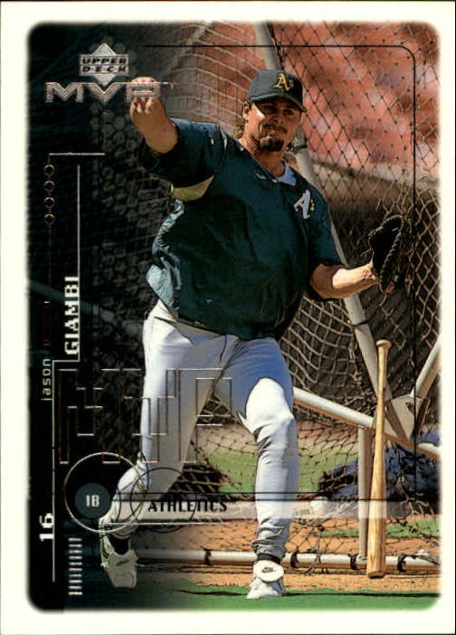 1999 Upper Deck MVP #154 Jason Giambi