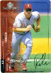 1999 Upper Deck MVP Silver Script #156 Scott Rolen front image