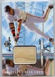1999 Upper Deck MVP Game Used Souvenirs #GUBB Barry Bonds