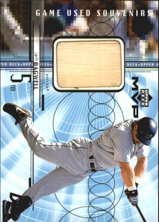 1999 Upper Deck MVP Game Used Souvenirs #GUJB Jeff Bagwell