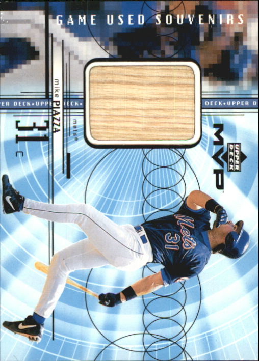 1999 Upper Deck MVP Game Used Souvenirs #GUMP Mike Piazza