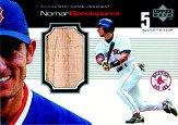 1999 Upper Deck Ovation A Piece of History #NG Nomar Garciaparra