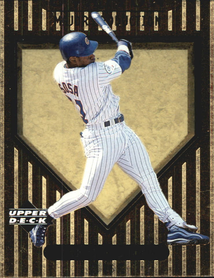1999 Upper Deck Ovation Major Production #S19 Sammy Sosa
